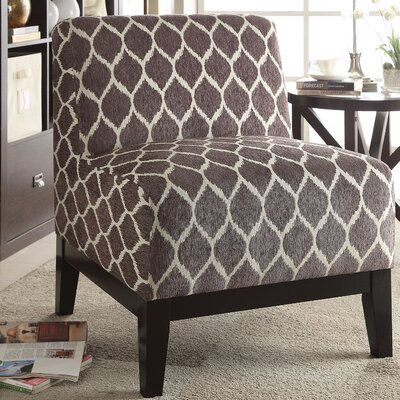 Hinte Slipper Chair Upholstery Color: Brown