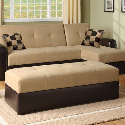 Lakeland Ottoman Upholstery: Sand