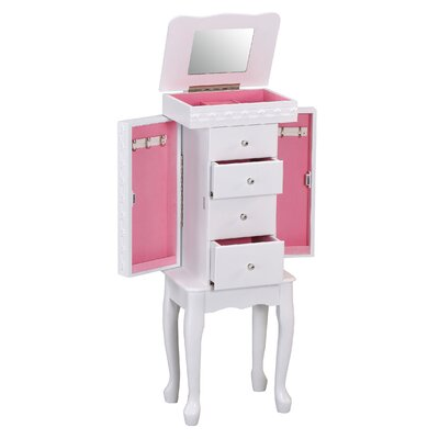 Didi Jewelry Armoire with Mirror