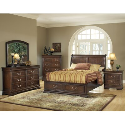 Hennessy Platform Customizable Bedroom Set