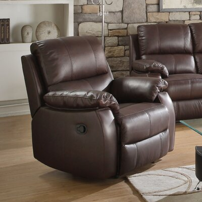 Enoch Leather Manual Recliner