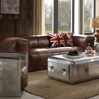 Brancaster Leather Sofa