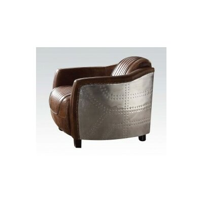 17 Stories Annessia Solid Barrel Chair