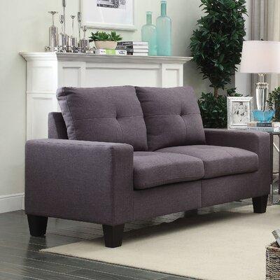 Platinum II Loveseat Upholstery: Gray