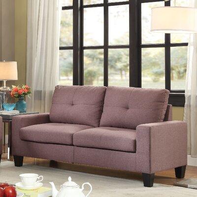 Platinum II Sofa Upholstery: Chocolate