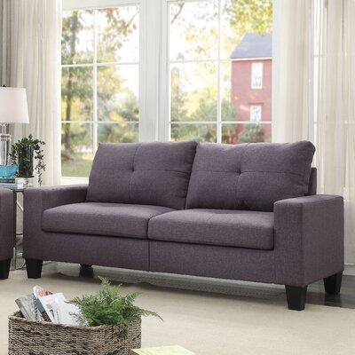 Platinum II Sofa Upholstery: Gray