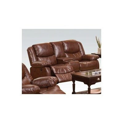 Madelaine Power Motion Console Reclining Sofa