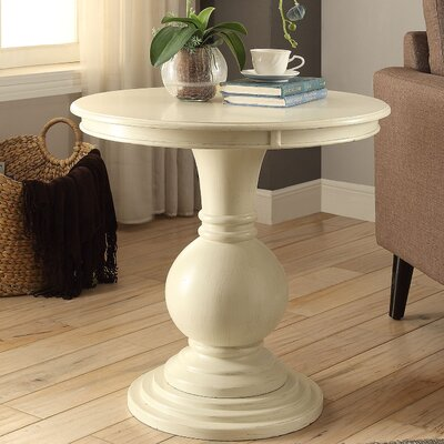 Alyx End Table Color: Antique White