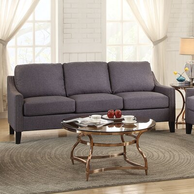 Zapata Jr Sofa Upholstery: Gray