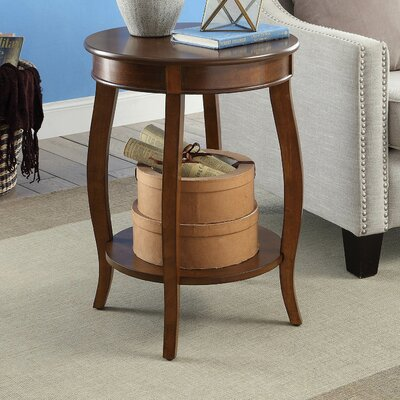 Aberta End Table Color: Walnut