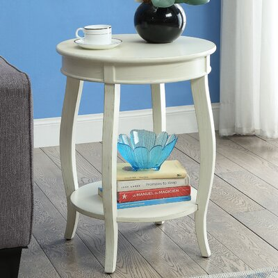Aberta End Table Finish: Antique White