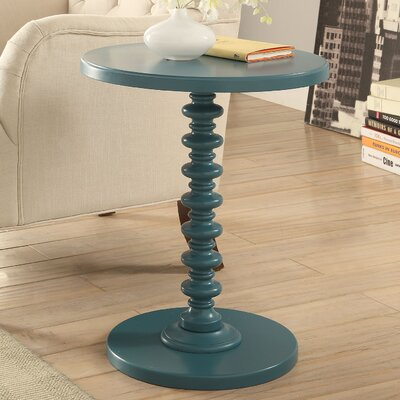 Acton End Table Finish: Teal