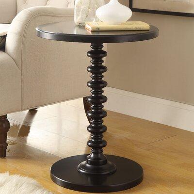 Acton End Table Color: Black