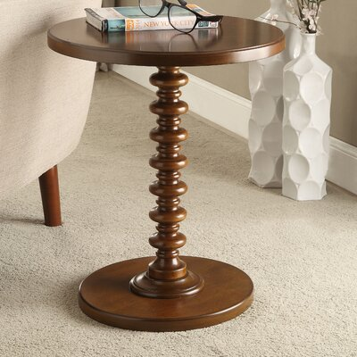 Acton End Table Color: Walnut