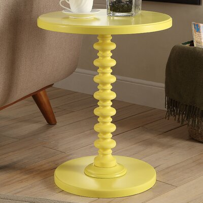 Acton End Table Color: Yellow