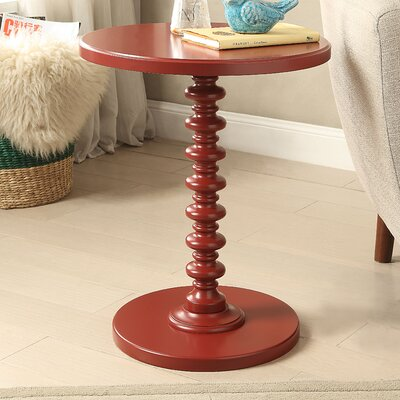 Acton End Table Finish: Red