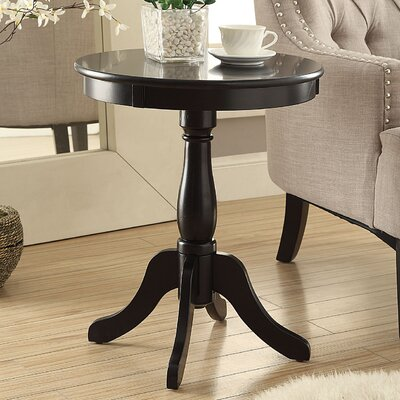 Alger End Table Color: Black