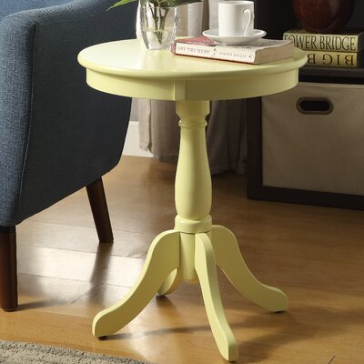 Alger End Table Finish: Light Yellow