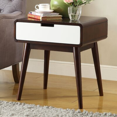 Christa End Table With Storage