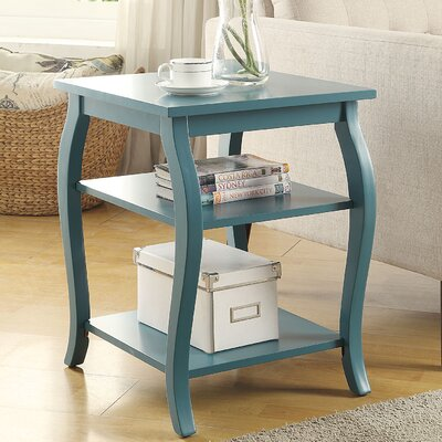 Becci End Table Finish: Teal