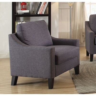 Zapata Jr Armchair Upholstery: Gray