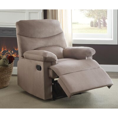 Arcadia Recliner Upholstery: Light Brown
