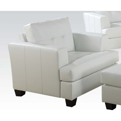 Platinum Club Chair Upholstery: White