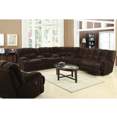 ACME Furniture CMU2000 Ahearn Reclining Sectional