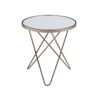 Valora End Table Color: Frosted