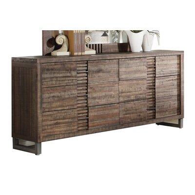 Andria 6 Drawer Standard Dresser
