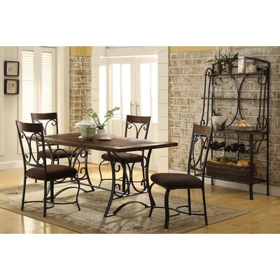 Hakesa 5 Piece Dining Set