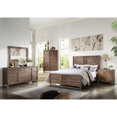 Andria Panel Customizable Bedroom Set