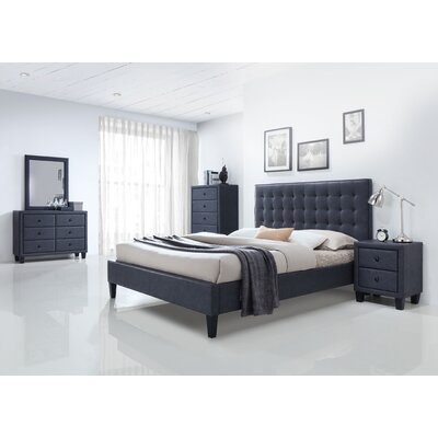 Saveria Platform Customizable Bedroom Set