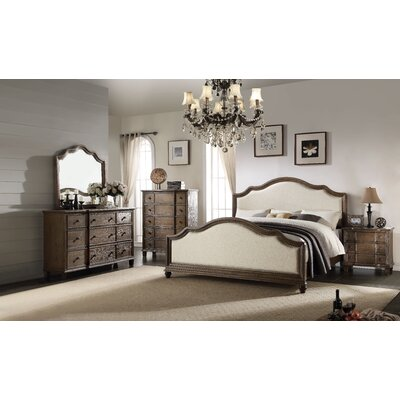 Baudouin Panel Configurable Bedroom Set