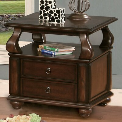 Amado End Table With Storage