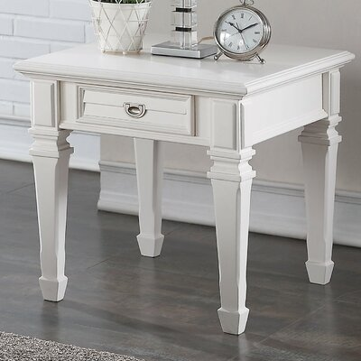 Adalyn End Table with Storage