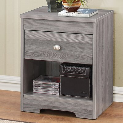 Tashia 1 Drawer Nightstand