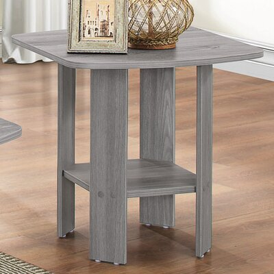Sadiya Oak End Table