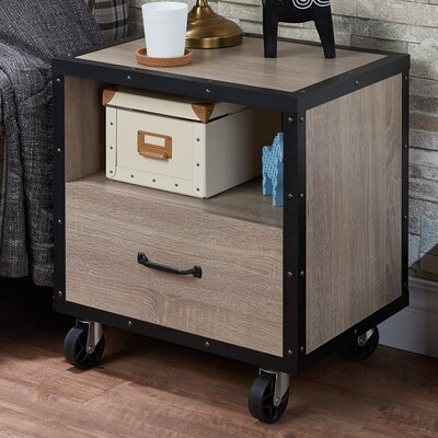 Bemis 1 Drawer Nightstand