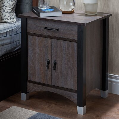 Calp 1 Drawer Nightstand