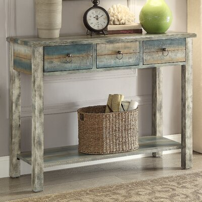 Glancio Antique Console Table