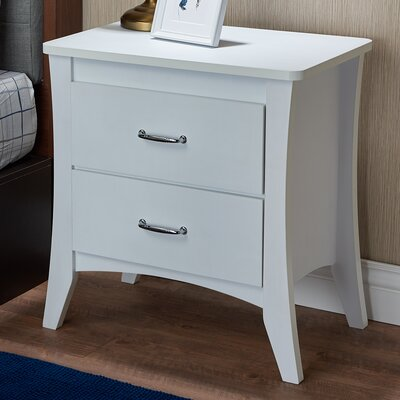 Babb 2 Drawer Nightstand