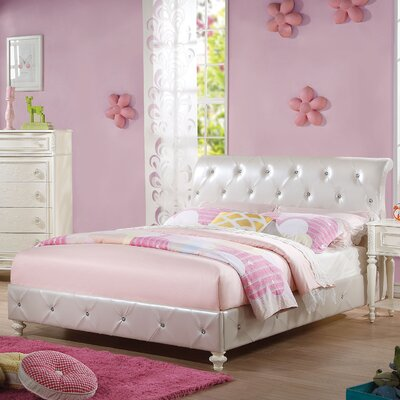 Dorothy PU Panel Bed Size: Twin