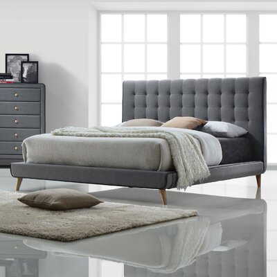 Valda Upholstered Platform Bed Size: Queen