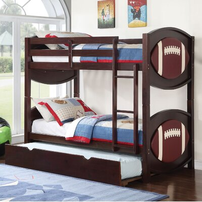 All Star Football Twin Over Twin Bunk Bed