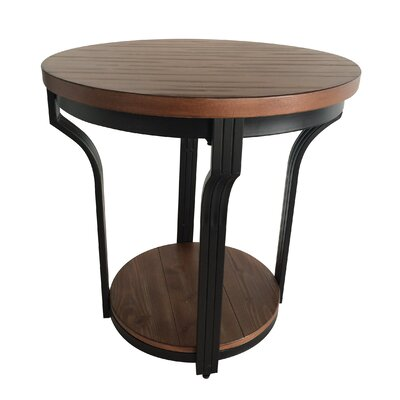 Geoff Oak End Table