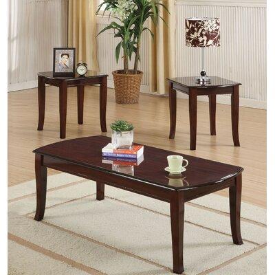 Camarillo 3 Piece Coffee Table Set