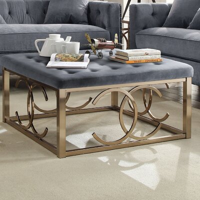 Jaxson Fabric Coffee Table