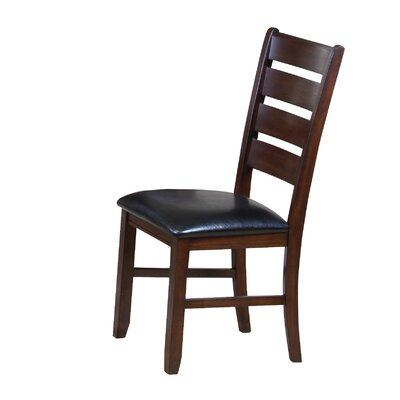 Stanley PU Ladder Back Side Chair