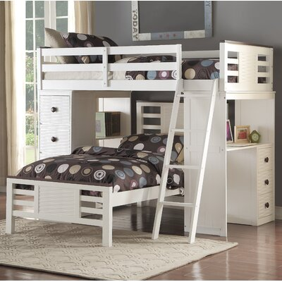 Florrie Loft Bed with Desk